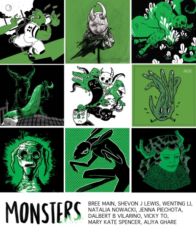 Illustrations of Monsters