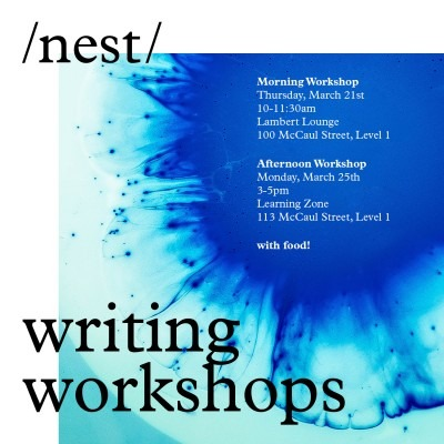nest writing workshops