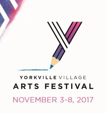Yorkville VIllage Arts Festival logo