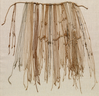 A quipu. Photo by David Mcintosh.