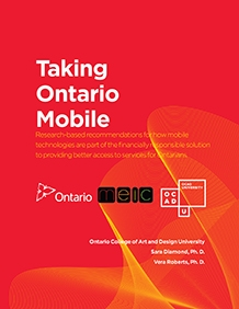 Taking Ontario Mobile Poster