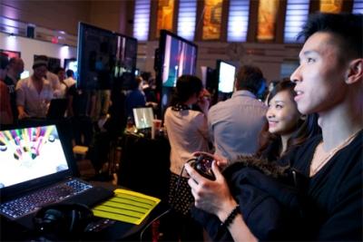 Gameplay at last year's Level Up event. Image courtesy University of Toronto.