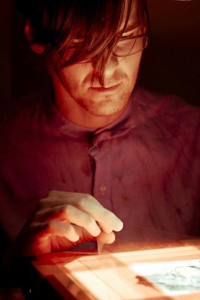 Daniel Barrow in performance. Image courtesy Glenfiddich.