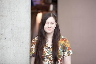 Jessica Tai at Grad Ex 2013. Photo by Christina Gapic.