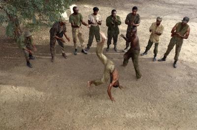 """Capoeira, 1974"" by Stan Douglas"