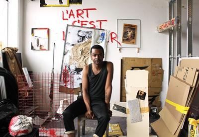Marvin Luvualu Antonio, Self Portrait #1, 2014