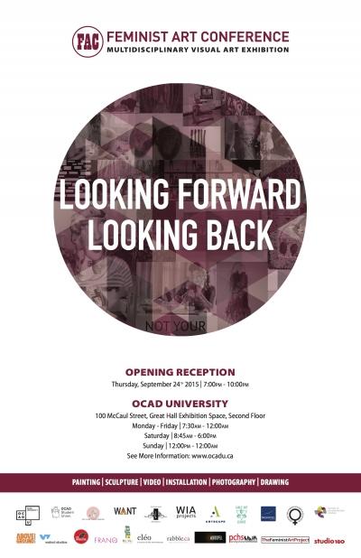 Feminist Art Conference Poster