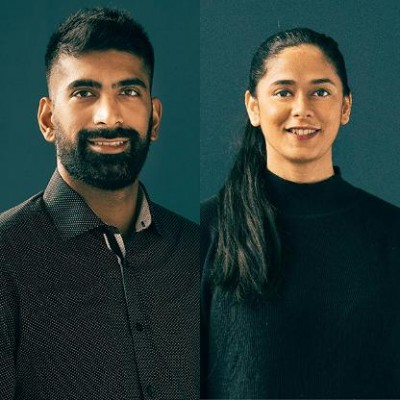 Abid Virani and Aliwar Pillai, co-founders, Fable Tech Labs (photo courtesy: Forbes)