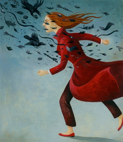 Hewgill Courage Illustration
