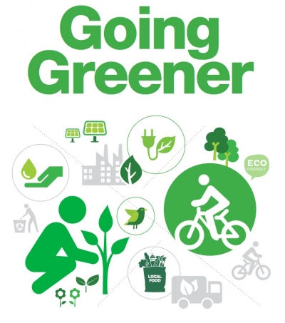 Going Greener event poster