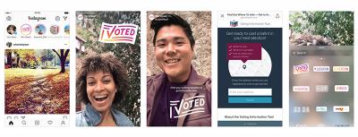 I voted sampler