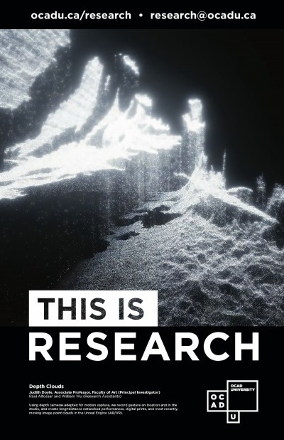 """This is Research"" Poster: Depth Clouds"