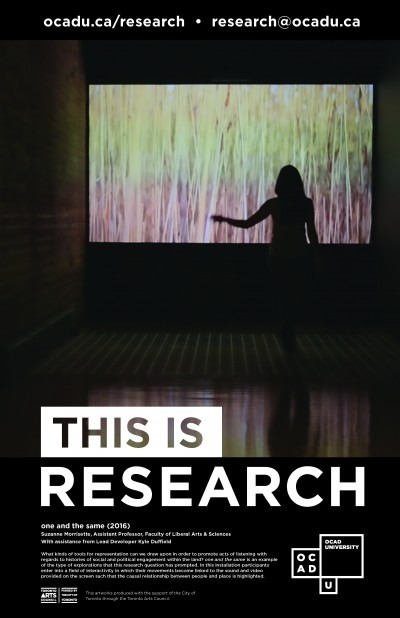 """This is Research"" Poster: one and the same"