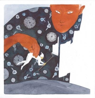 illustration by Toko Hosoya (2nd year)