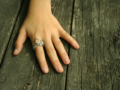 Ring by Laura Mitchell (photo by Ian Barnard)