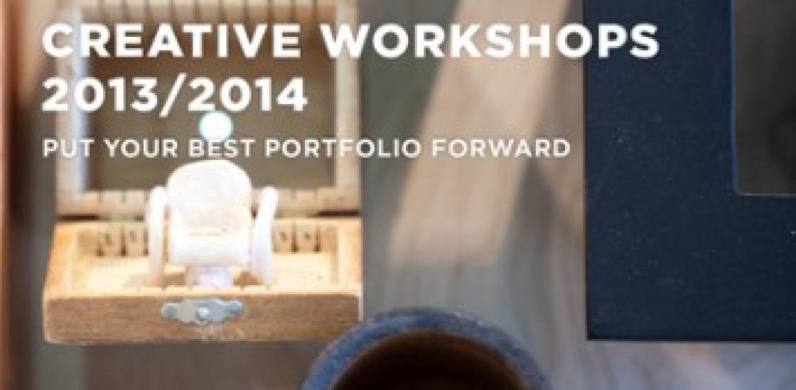 Event poster for Creative Workshops