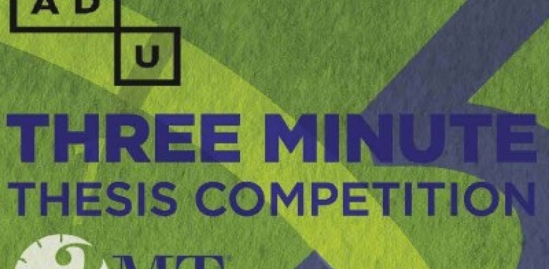 3 Minute Thesis Competition