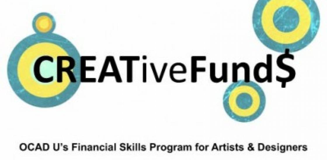 Creative Fund: Financial Skills Program Poster