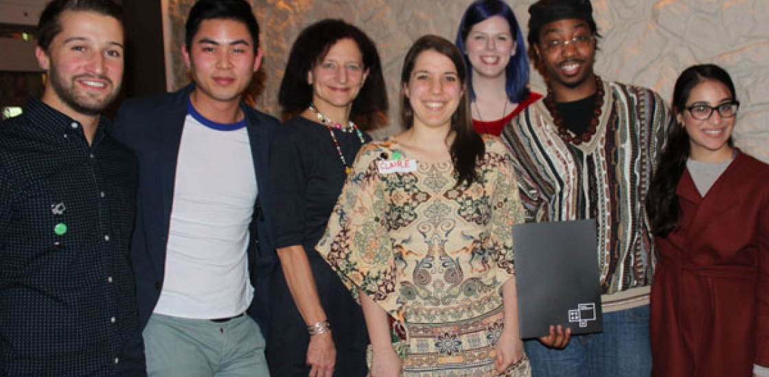 Recognized students from 2014/2015 Awards Dinner