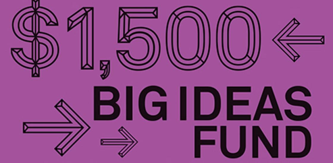 Big Ideas Fund 2017 Banner