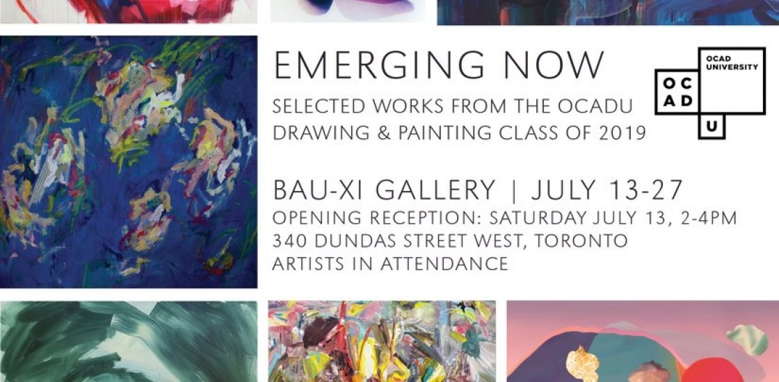 EMERGING NOW: Selected Works from the OCAD U Drawing & Painting Class of 2019