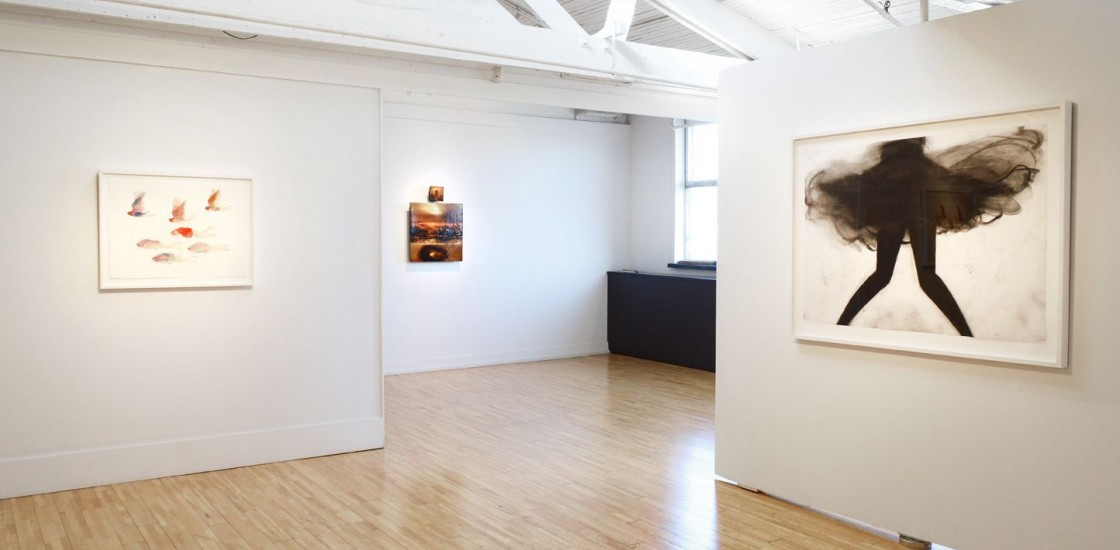 image of work installed in a gallery