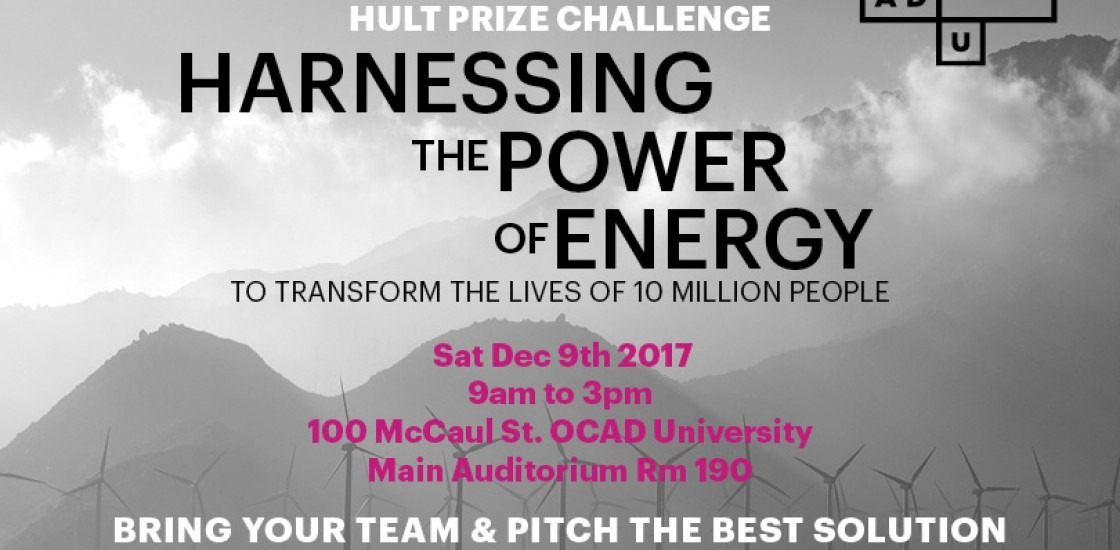 Hult Prize Challenge: Harnessing the Power of Energy