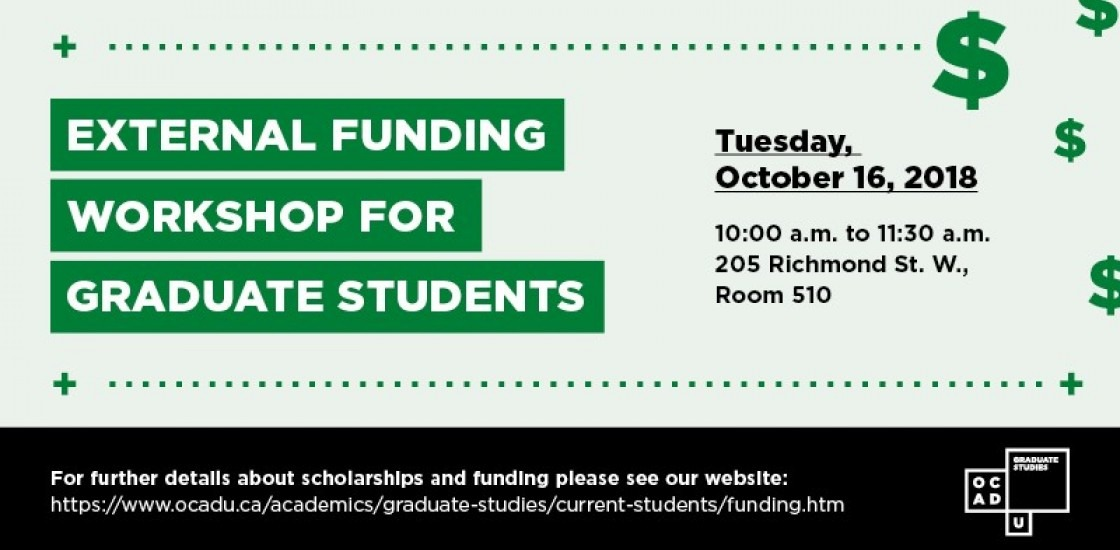 External Funding Workshop for Graduate Students