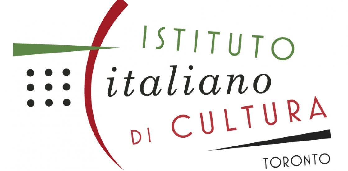Instituto Italioano Di Cultura Logo with black, green and red text