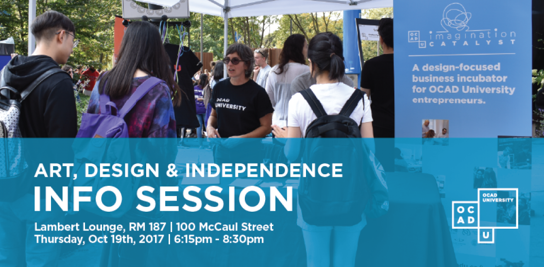 Art, Design & Independence Info Session