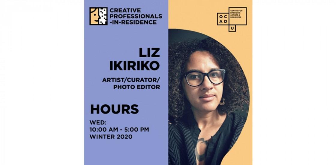 Liz Ikiriko I | Creative Professional-in-Residence