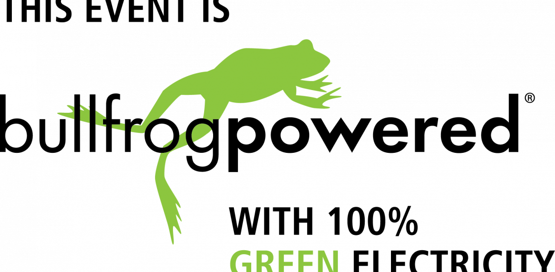 bullfrogpowered with 100% green electricity
