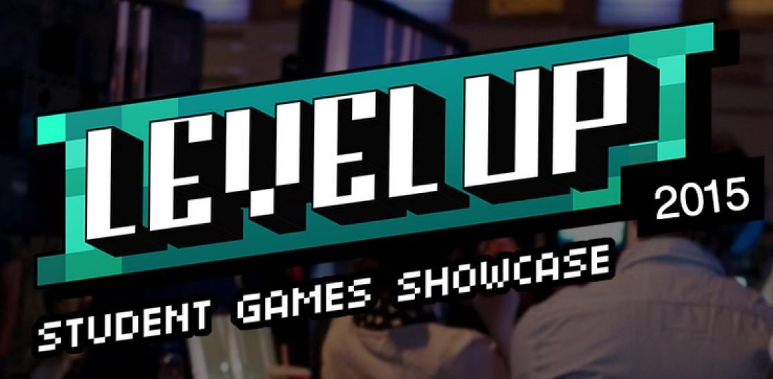 Level Up Logo on Image