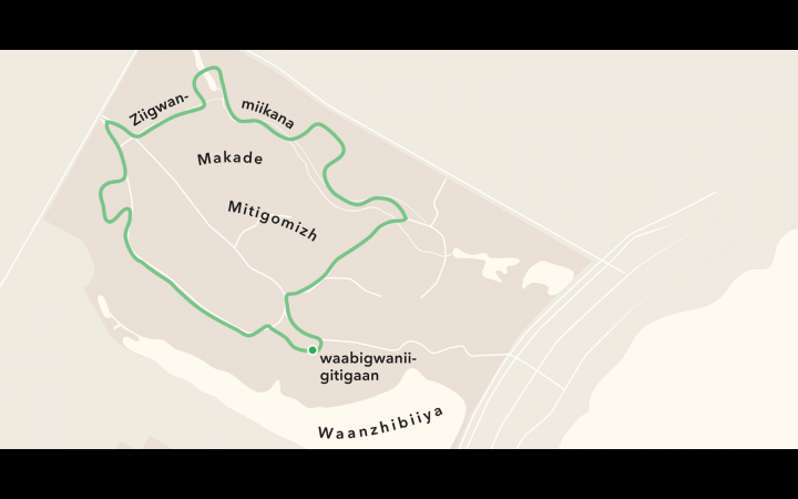 Walk the Mikinaak