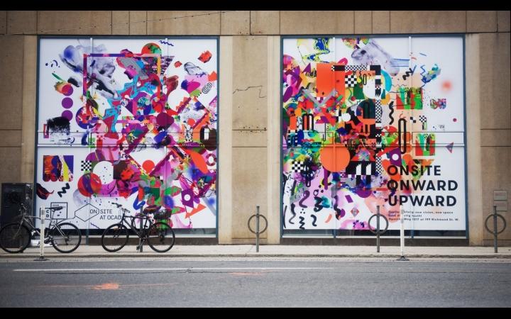 Nicole Beno Vinyl Mural