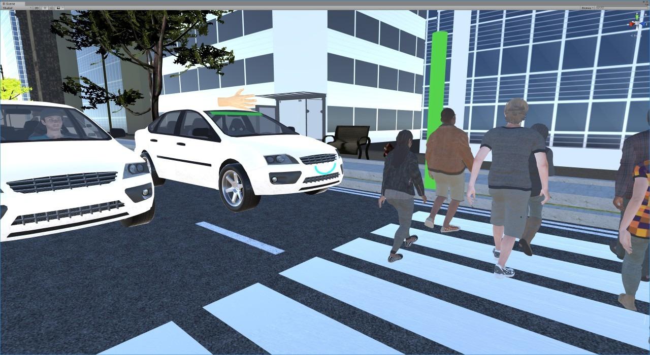 Pedestrian Simulator