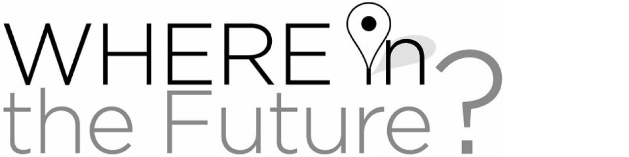 Where in the future logo