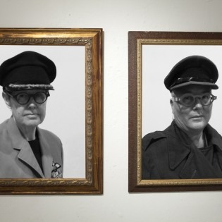 framed photos of Generals