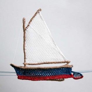 Lace Sailboat
