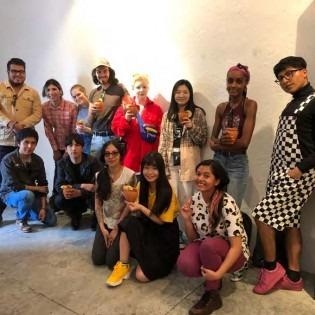 OCADU INTAC students meet with UAEMex students in Mexico City, Feb. 2019