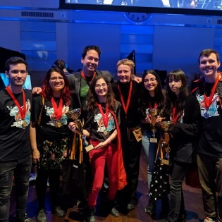 OCAD U/U of T team at Level Up 2019