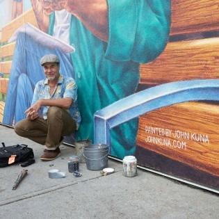Artist and OCAD U alumnus John Kuna