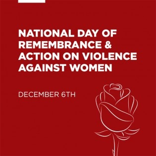 National Day of Remembrance & Action on Violence Against Women