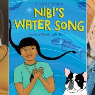 Chief Lady Bird (left) and Sunshine Tenaso (right). Courtesy: Scholastic Books.
