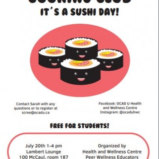 Poster Sushi Day