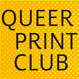 queer print club poster