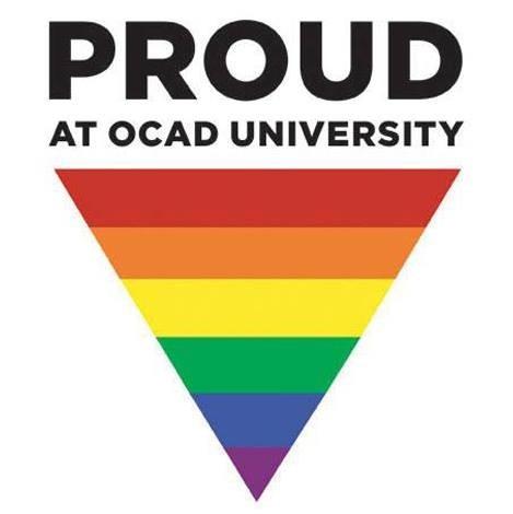 Proud at OCAD U graphic