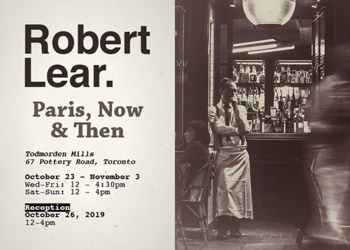 Robert Lear - Paris, Now & Then