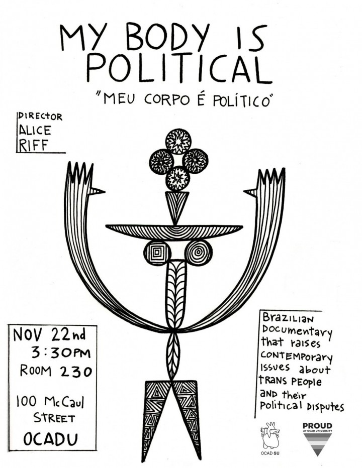 My Body is Political poster graphic