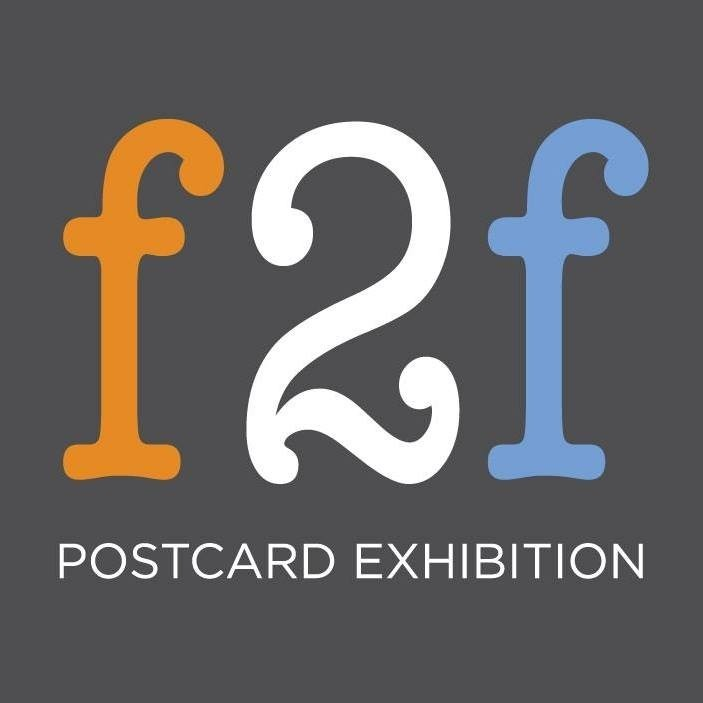 face2face: postcard exhibition 2018